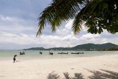 Spiaggia di Patong, Phuket Fotografie Stock