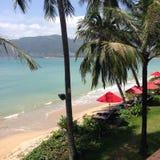 Spiaggia di Patong a Phuket Tailandia Asia Immagine Stock Libera da Diritti