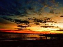 Spiaggia di patra di Banua fotografia stock libera da diritti