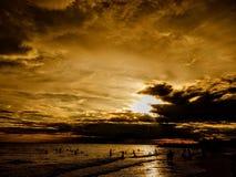 Spiaggia di patra di Banua immagine stock libera da diritti