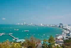 Spiaggia di Pattaya. Fotografie Stock Libere da Diritti