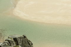 Spiaggia di Pedn Vounder Immagine Stock Libera da Diritti