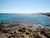 Spiaggia di Peloza della La Fotografia Stock Libera da Diritti