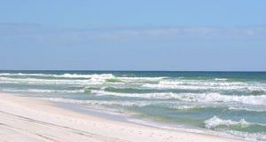 Spiaggia di Pensacola fotografia stock
