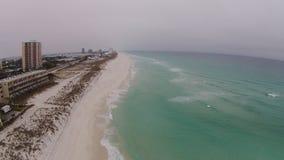 Spiaggia di Pensacola Fotografie Stock