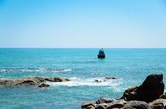 Spiaggia di Phan Thiet Fotografia Stock Libera da Diritti