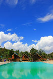Spiaggia di Phayun nel divieto Chang District della provincia di Rayong Fotografia Stock Libera da Diritti