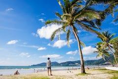 Spiaggia di Phuket-Patong Fotografie Stock