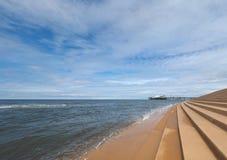 Spiaggia di piacere a Blackpool immagine stock libera da diritti