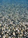 Spiaggia di pietra Immagini Stock Libere da Diritti