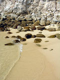 Spiaggia di pietra II Fotografie Stock Libere da Diritti
