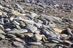 Spiaggia di pietra in Spagna Fotografia Stock Libera da Diritti