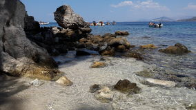 Spiaggia di Pisina Fotografie Stock