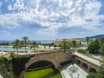 Spiaggia di Plama de Mallorca Immagine Stock