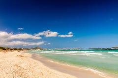 Spiaggia di Playa de Muro Immagine Stock Libera da Diritti