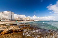 Spiaggia di Playa de Muro Fotografie Stock
