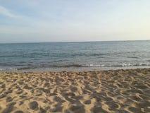 Spiaggia di Playa de Palma Can Pastilla Fotografia Stock Libera da Diritti