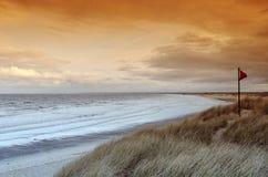 Spiaggia di Pointe de la Torche in Bretagna Fotografie Stock Libere da Diritti