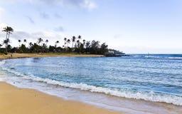 Spiaggia di Poipu Fotografia Stock