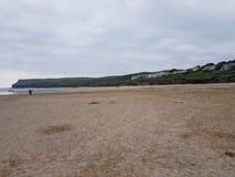 Spiaggia di Polzeath Fotografia Stock