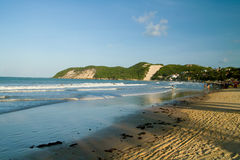 Spiaggia di Ponta Negra Fotografia Stock