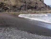 Spiaggia di Porta da Cruz Immagini Stock