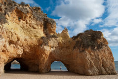 Spiaggia di Portimao - Algarve Fotografia Stock