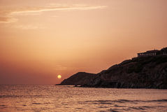 Spiaggia. Spiaggia di Portixeddu - costa verde, Sardinia stock image