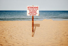 Spiaggia. Stock Images