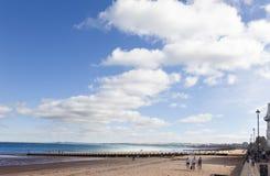 Spiaggia di Portobello Immagini Stock