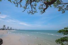 Spiaggia di Prachuap Khiri Khan Immagine Stock