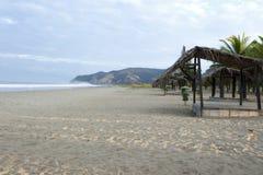 Spiaggia di Puerto Lopez Fotografia Stock Libera da Diritti