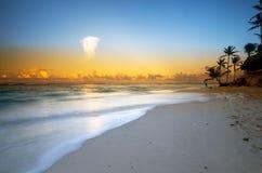 Spiaggia di Punta Cana, Repubblica dominicana Fotografia Stock Libera da Diritti