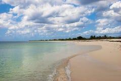 Spiaggia di Punta Sur Fotografie Stock Libere da Diritti