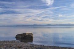 Spiaggia di Qualicum, isola di Vancouver Fotografie Stock Libere da Diritti