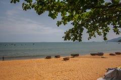 Spiaggia di Qui Nhon fotografie stock libere da diritti