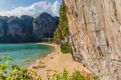 Spiaggia di Railay in Krabi Tailandia fotografie stock libere da diritti