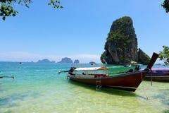 Spiaggia di Railey, Krabi, Tailandia Immagini Stock Libere da Diritti