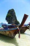 Spiaggia di Railey, Krabi, Tailandia Immagine Stock Libera da Diritti