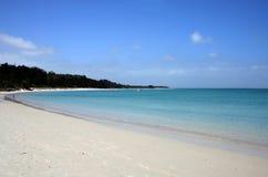 Spiaggia di Rangiputa, Northland, Nuova Zelanda Immagini Stock