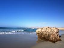 Spiaggia di Ras Madrakah Fotografia Stock