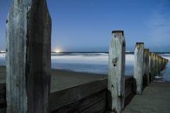 Spiaggia di Redcar fotografia stock