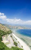 Spiaggia di rei di Cristo nel Timor Est Fotografie Stock Libere da Diritti