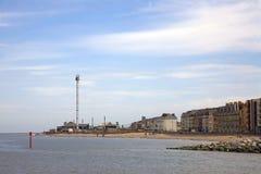 Spiaggia di Rhyl immagini stock