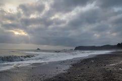 Spiaggia di Rialto, parco nazionale olimpico Immagine Stock
