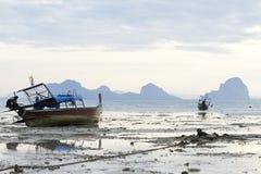 Spiaggia di riflusso fotografia stock