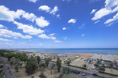 Spiaggia di Rimini Fotografia Stock Libera da Diritti