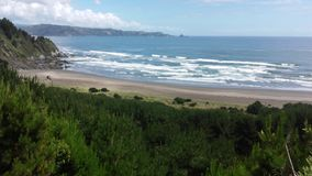 Spiaggia di Ronca Immagine Stock