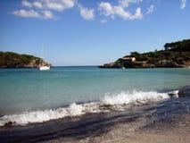 Spiaggia di S'Amarador Fotografia Stock