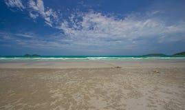 Spiaggia di sabbia immagine stock